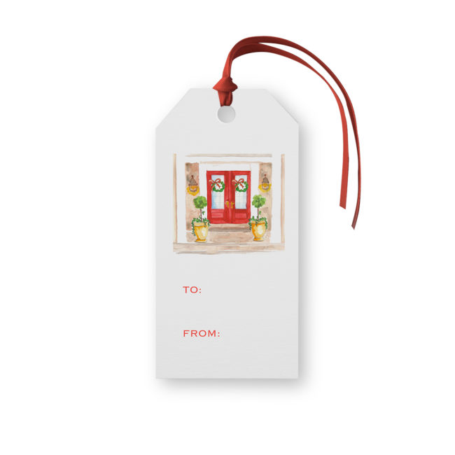 Holiday House Classic Gift Tag printed on White paper.