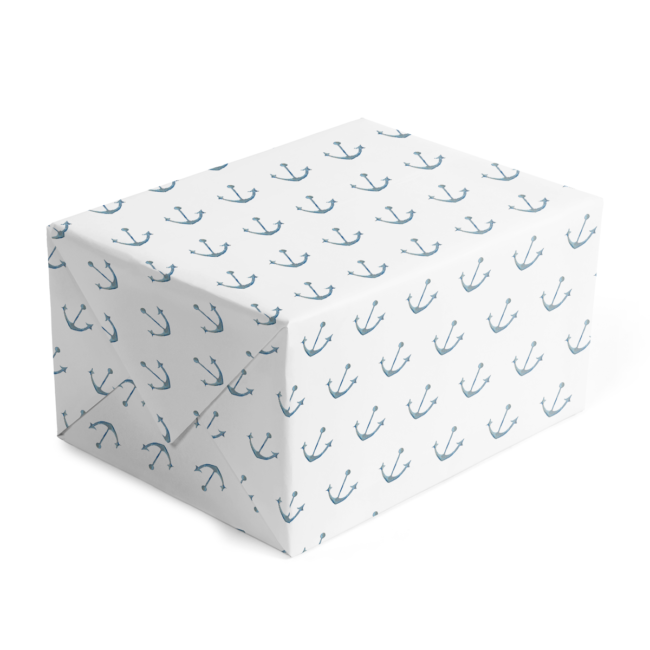 Anchor Classic Gift Wrap printed on White paper.
