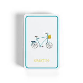 bicycle image adorns classic playing cards