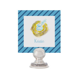 Bird's Nest Place Card printed on White paper.