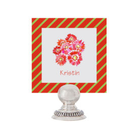 Gerber Daisy Bunch Place Card