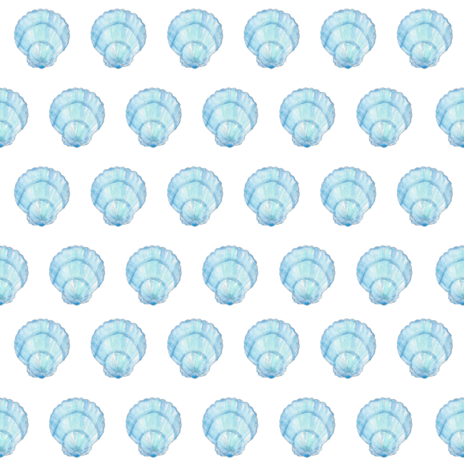 blue shell classic gift wrap