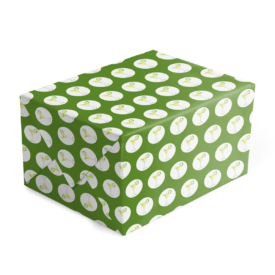 margarita preppy gift wrap printed on 70lb paper.