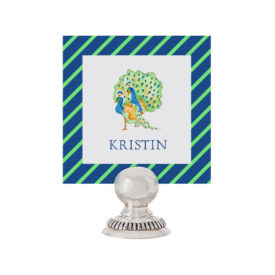 Peacock Place Card