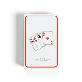 poker cards image on classic playing cards