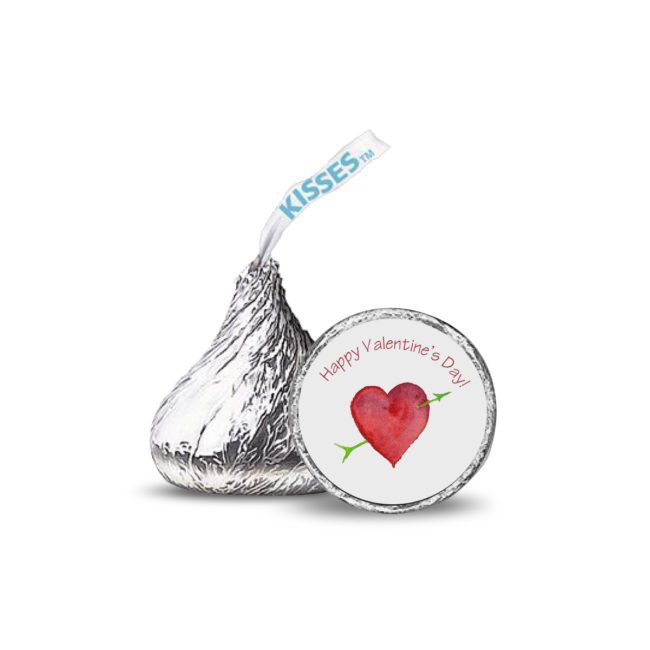 Heart with Arrow Candy Sticker