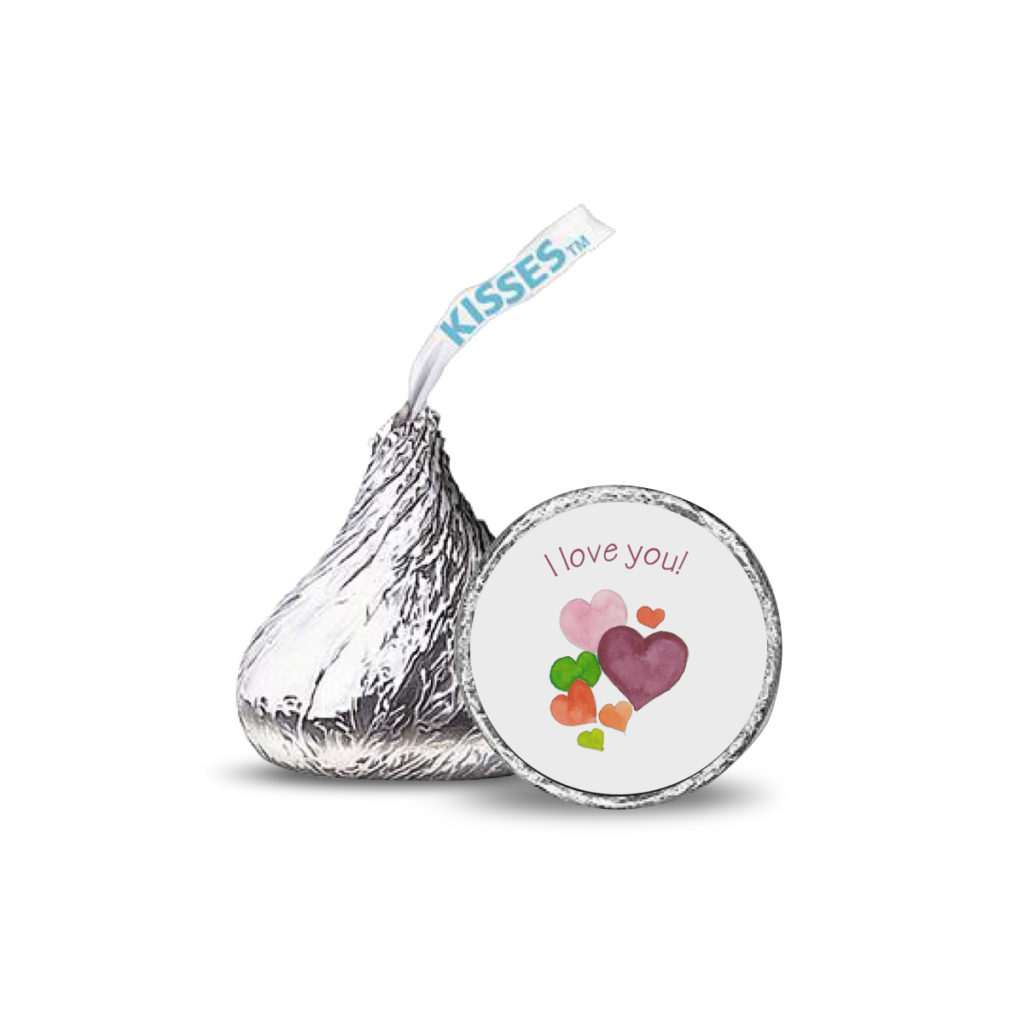 Hearts Candy Sticker