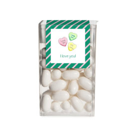 Personalized Favor Conversation Hearts Tic Tac Sticker