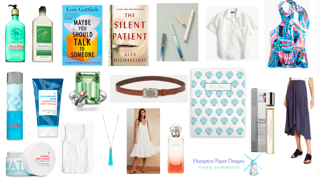 My top pics for summer fashion, accessories and books.