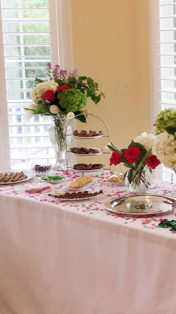 Dessert Table with a Kentucky Derby theme.